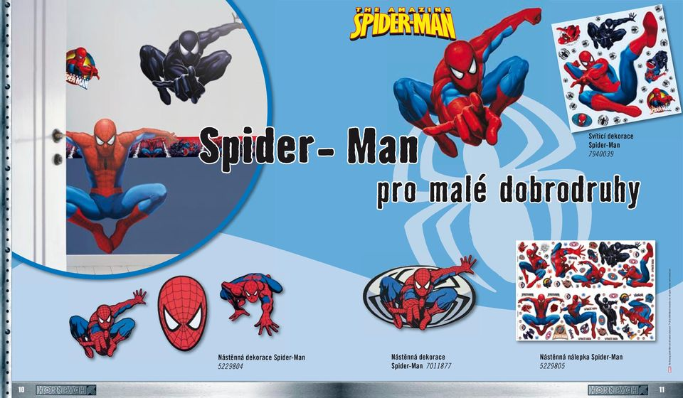 Nástěnná nálepka Spider-Man 5229805 The Amazing Spider-Man and all related