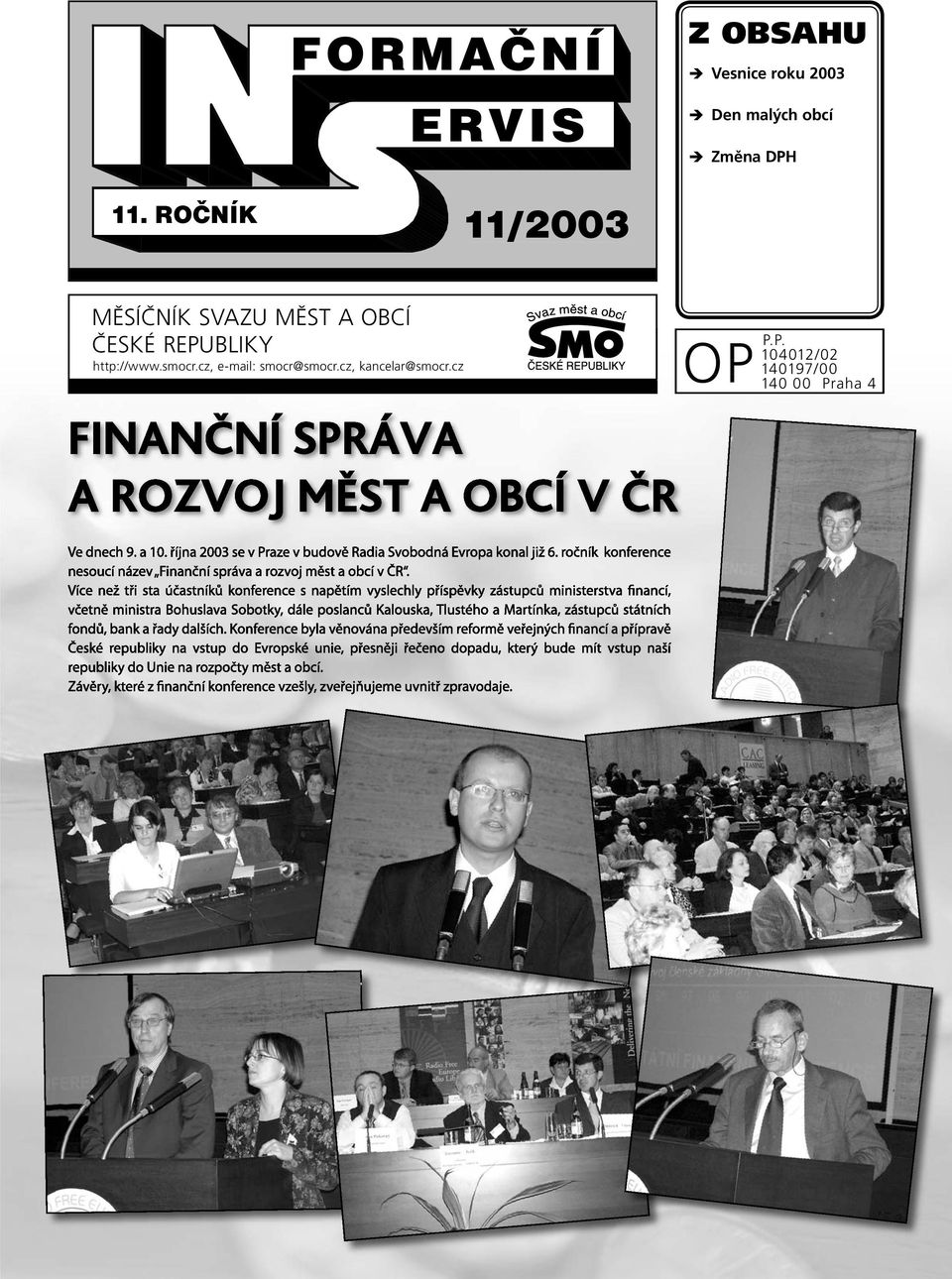 REPUBLIKY http://www.smocr.cz, e-mail: smocr@smocr.