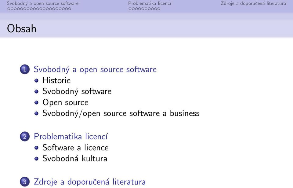 business 2 Problematika licencí Software a
