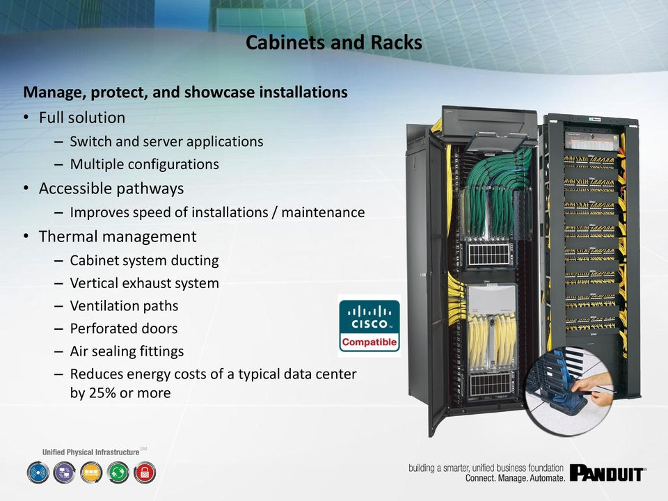 maintenance Thermal management Cabinet system ducting Vertical exhaust system Ventilation