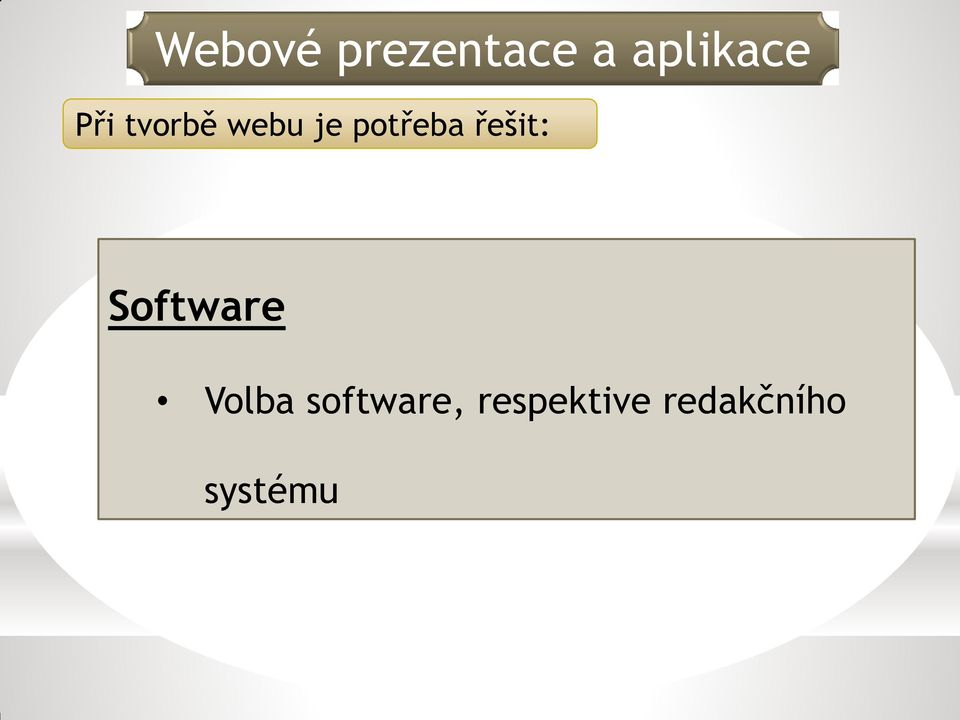Software Volba