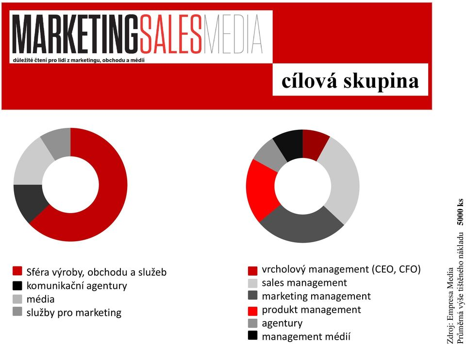 služby pro marketing vrcholový management (CEO, CFO) sales