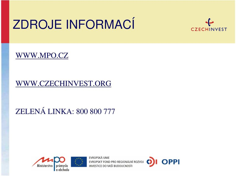 CZECHINVEST.