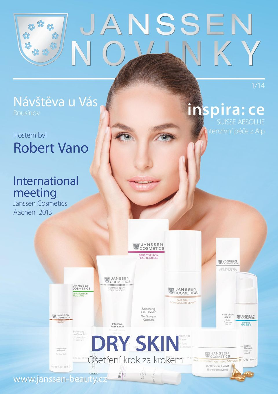Vano International meeting Janssen Cosmetics Aachen