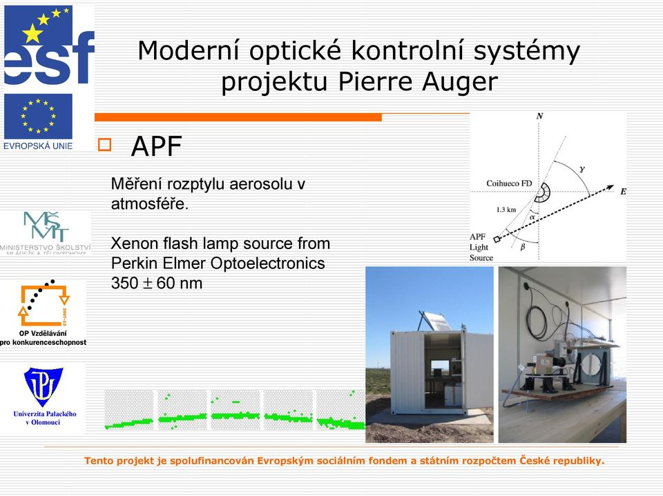 Xenon flash lamp source