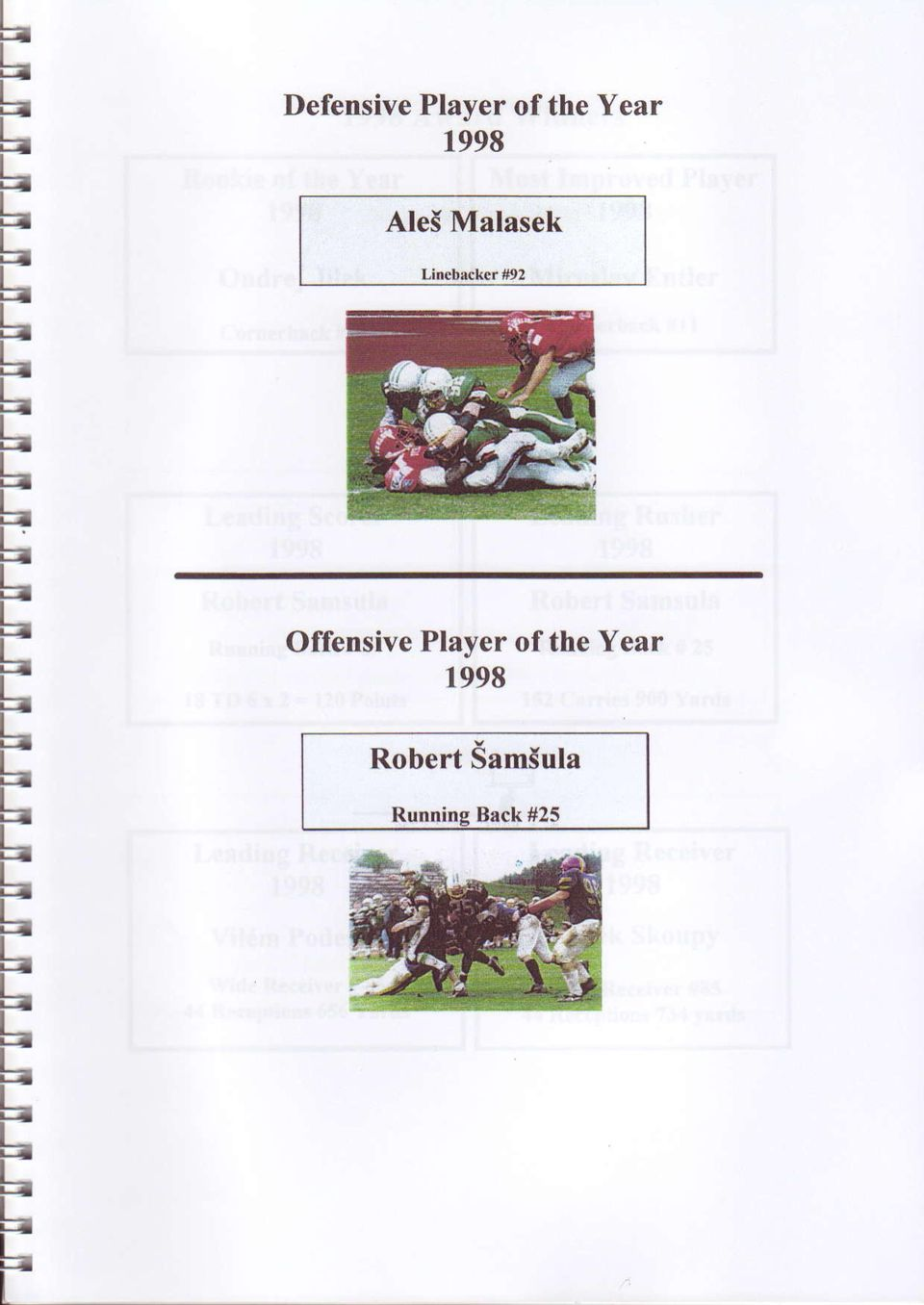 Offensive Player of the Year