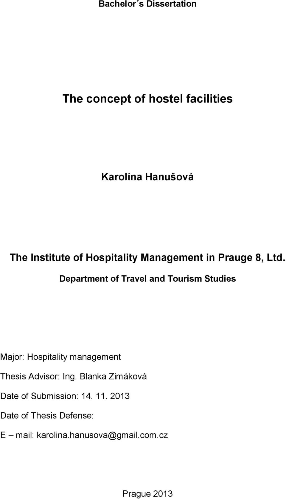 tourism and hospitality management pdf notes