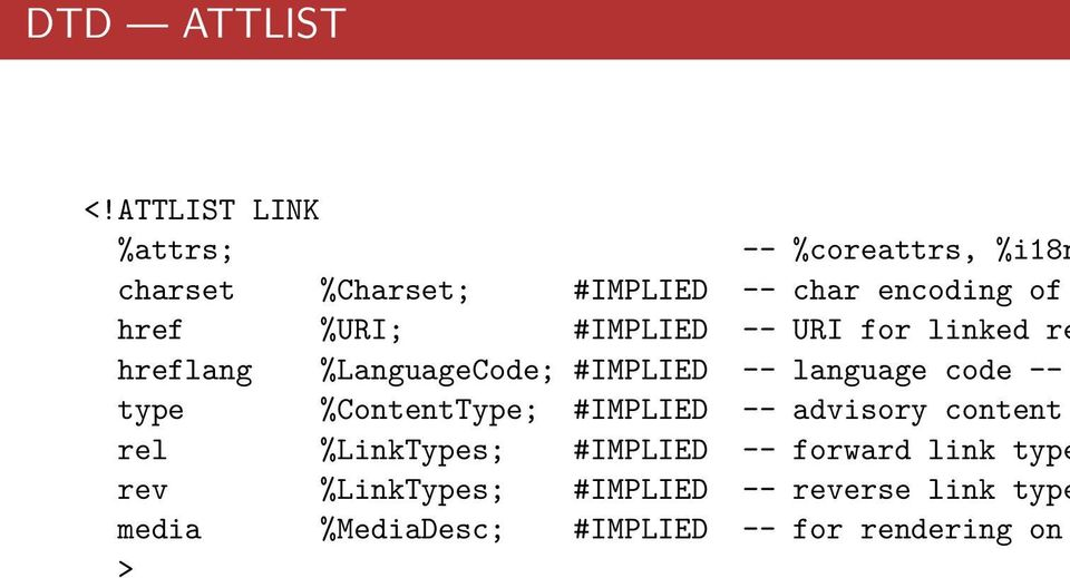 %URI; #IMPLIED -- URI for linked re hreflang %LanguageCode; #IMPLIED -- language code -- type