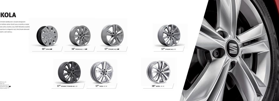 "16"" URBAN R 16"" DESIGN 48/1 R St 17"" DYNAMIC 48/2 A 17"" DYNAMIC 48/1 St Reference /R/ Style /St/ Style"