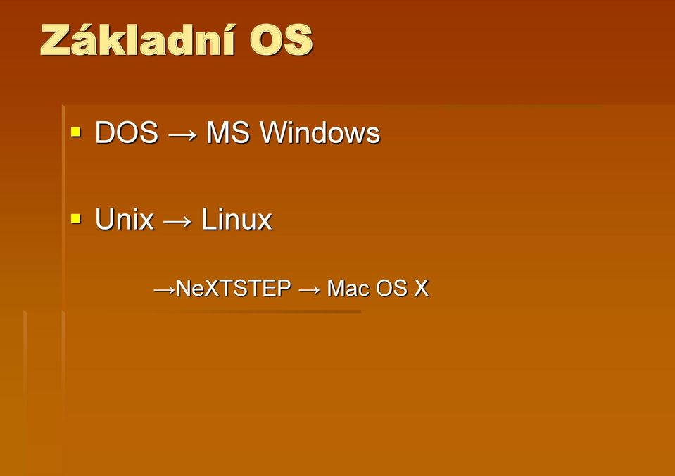 Windows Unix