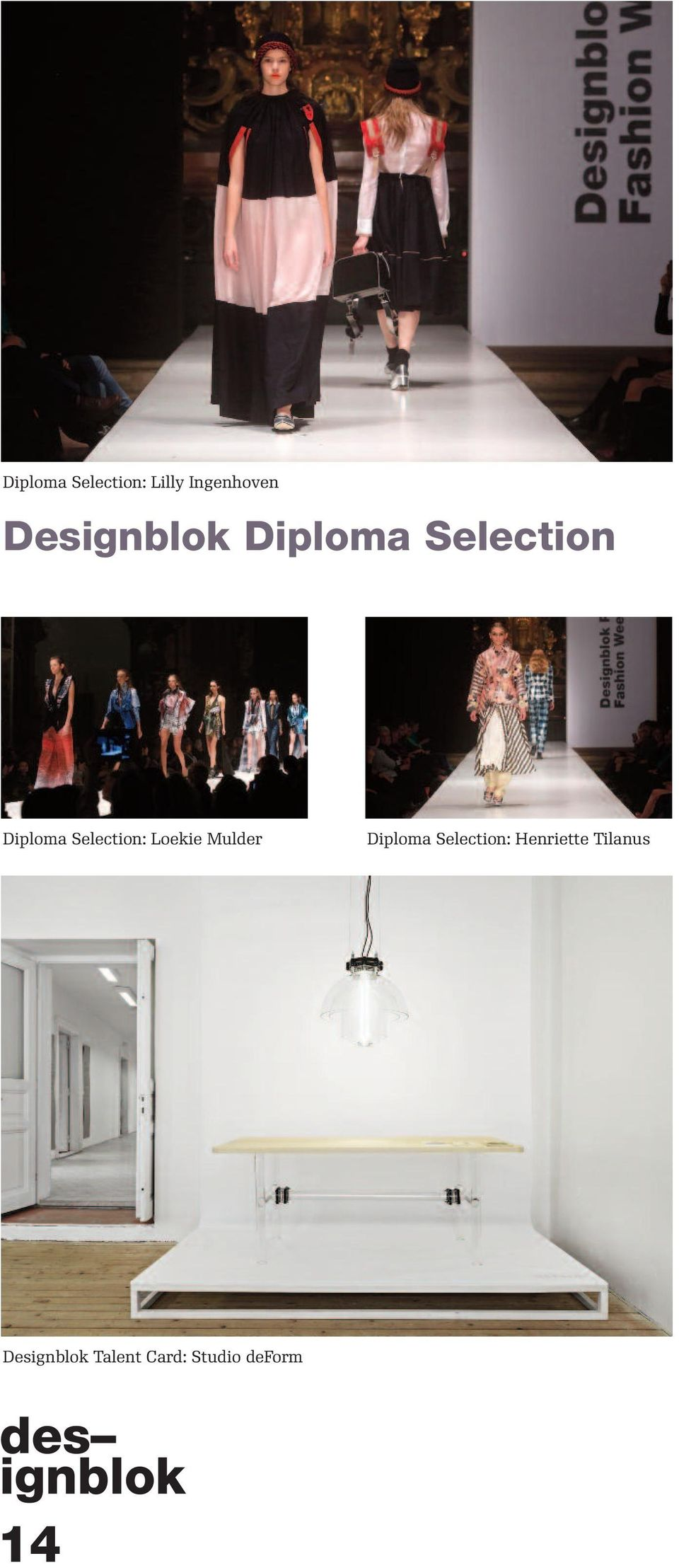 Selection: Loekie Mulder Diploma