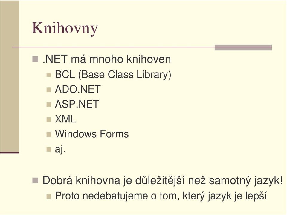 ADO.NET ASP.NET XML Windows Forms aj.