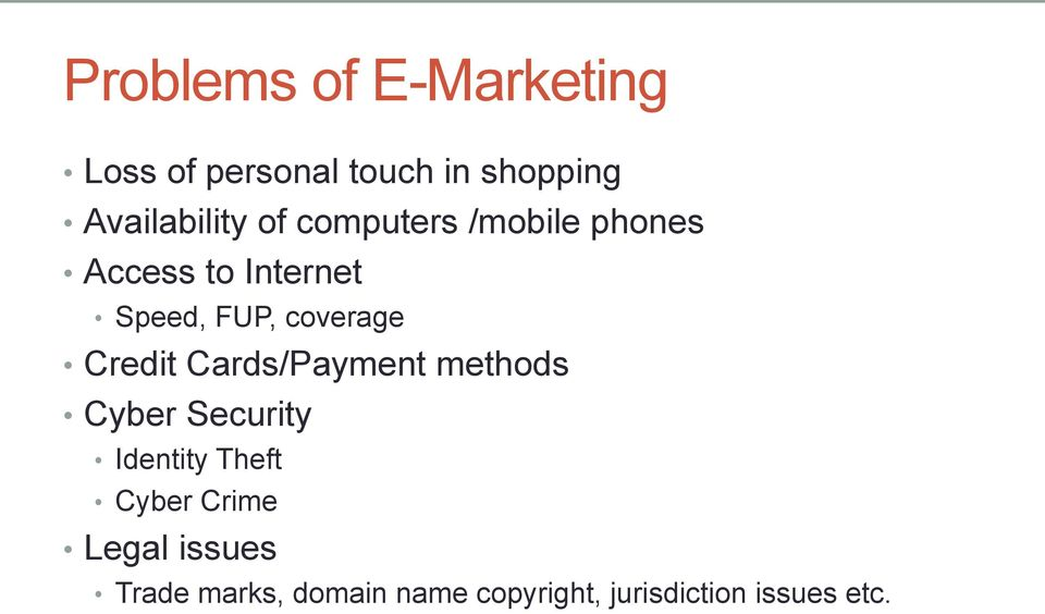 FUP, coverage Credit Cards/Payment methods Cyber Security Identity