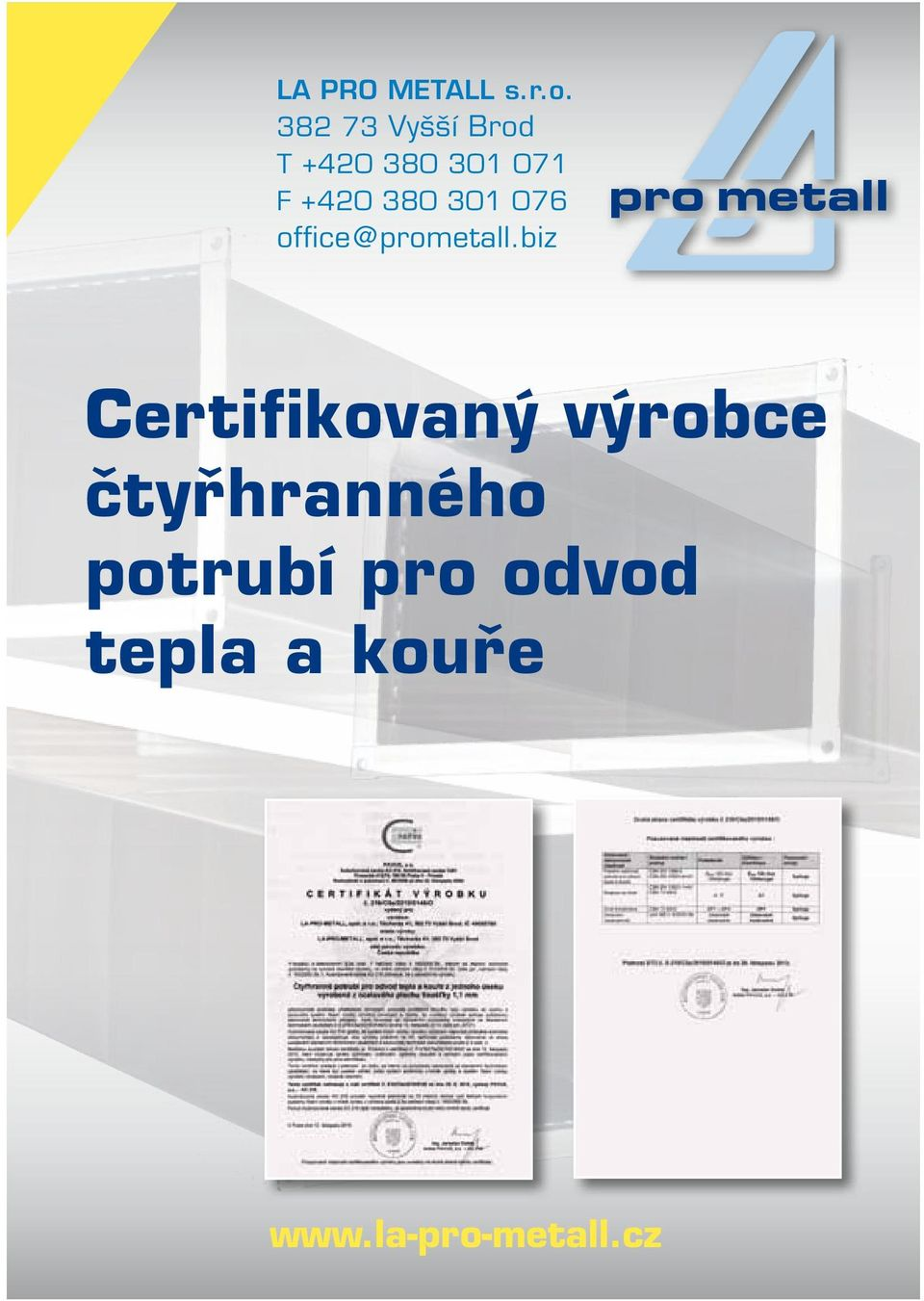 380 301 076 office@prometall.