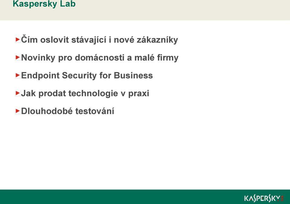 firmy Endpoint Security for Business Jak