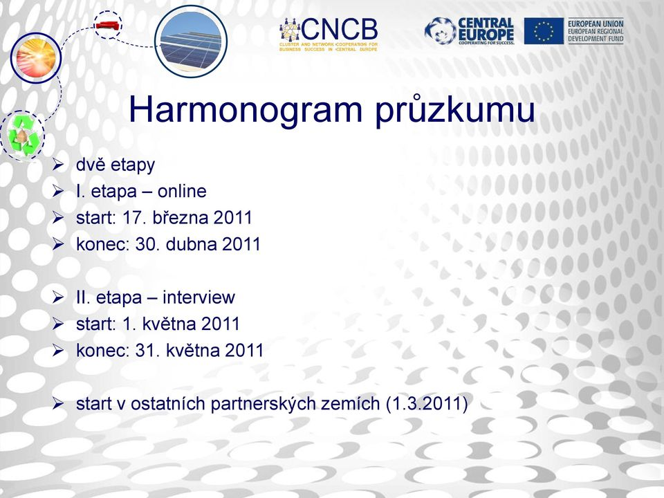dubna 2011 II. etapa interview start: 1.