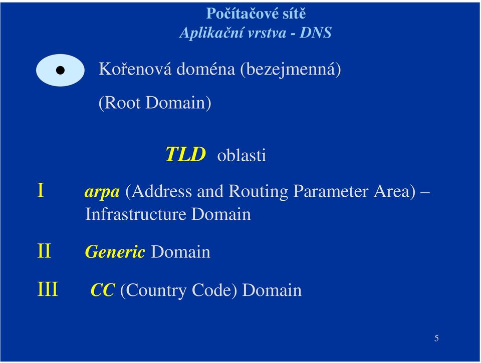 (Address and Routing Parameter Area)