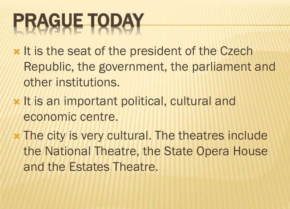 It is an important political, cultural and economic centre.