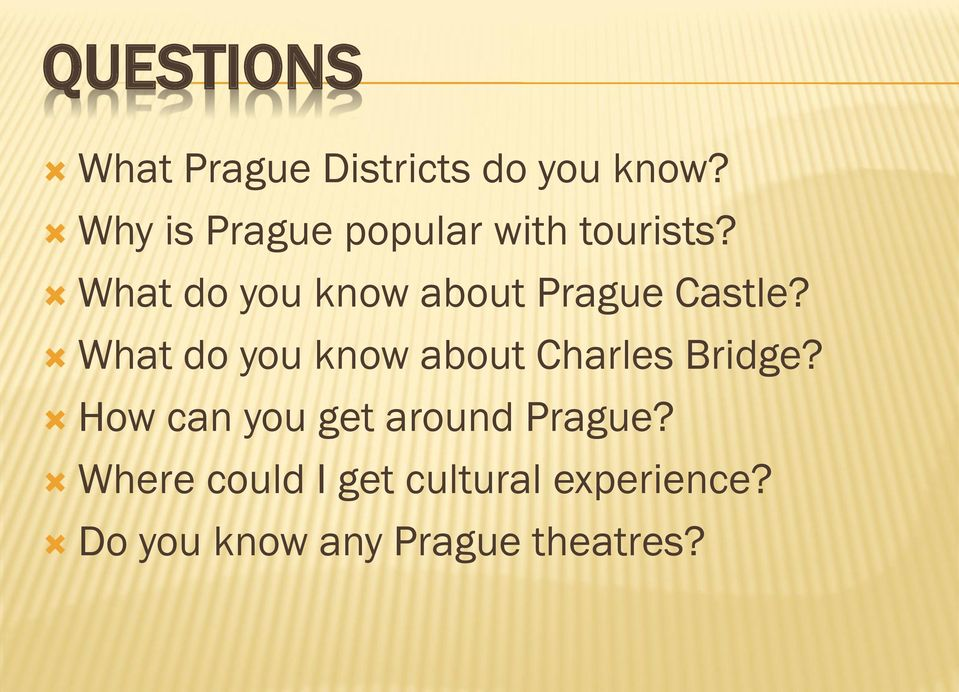 What do you know about Prague Castle?