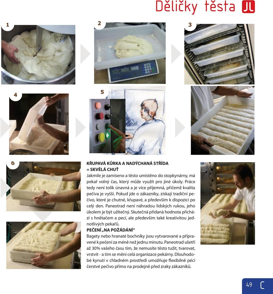 bread mixing making 1) process & scaling can now of be summed chunks up 2), in n main stages.