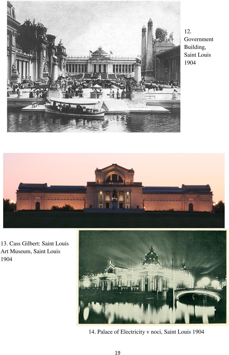 Cass Gilbert: Saint Louis Art Museum,
