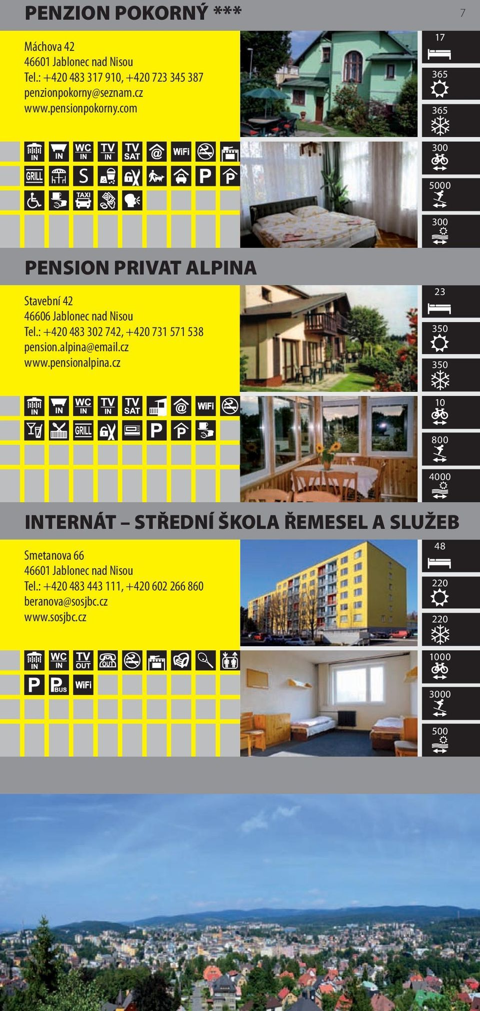 : +420 483 302 742, +420 731 571 538 pension.alpina@email.cz www.pensionalpina.