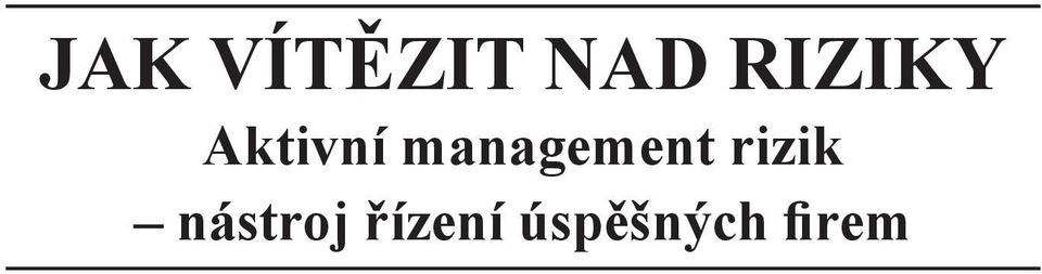 management rizik