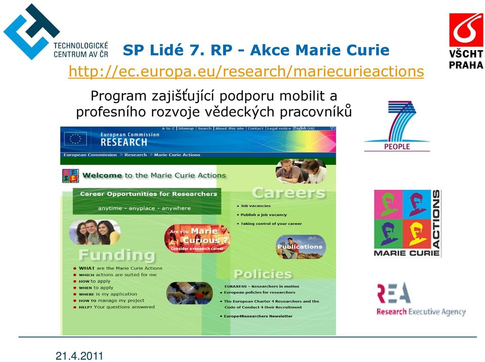 eu/research/mariecurieactions Program