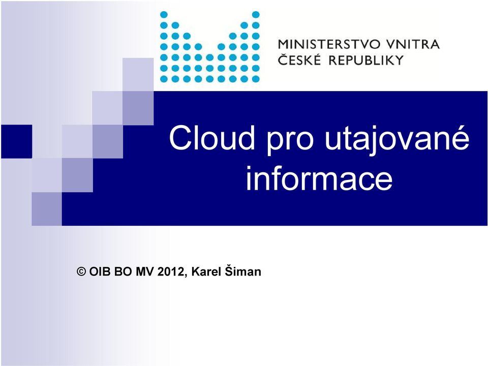 informace OIB