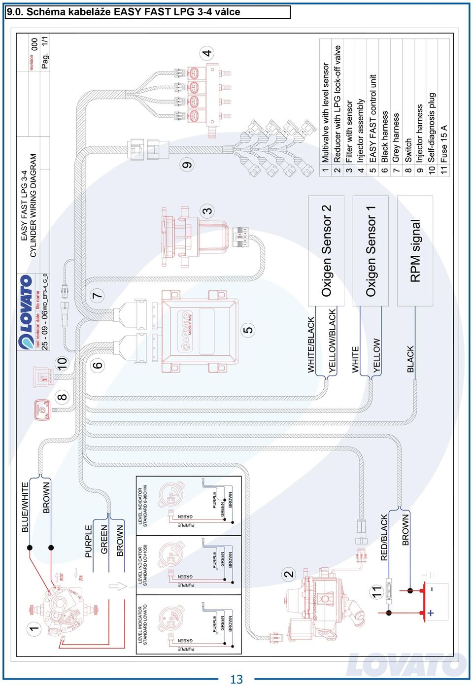 Lpg Wiring Diagram on wiring 5 way rotary selector