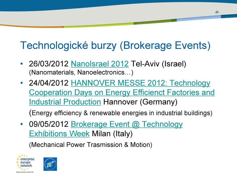Factories and Industrial Production Hannover (Germany) (Energy efficiency & renewable energies in