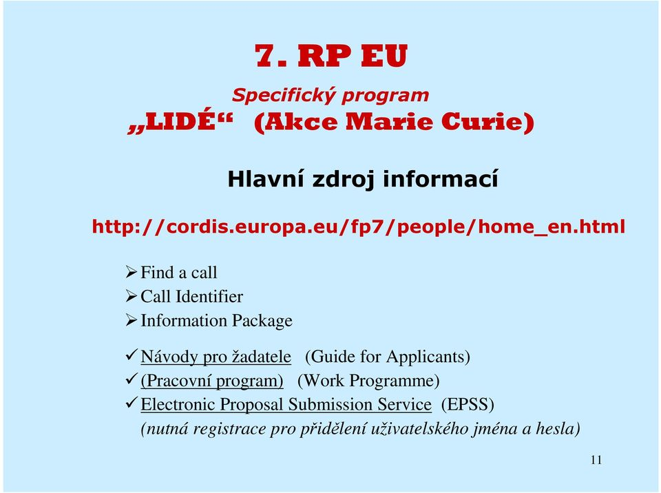 (Guide for Applicants) (Pracovní program) (Work Programme) Electronic