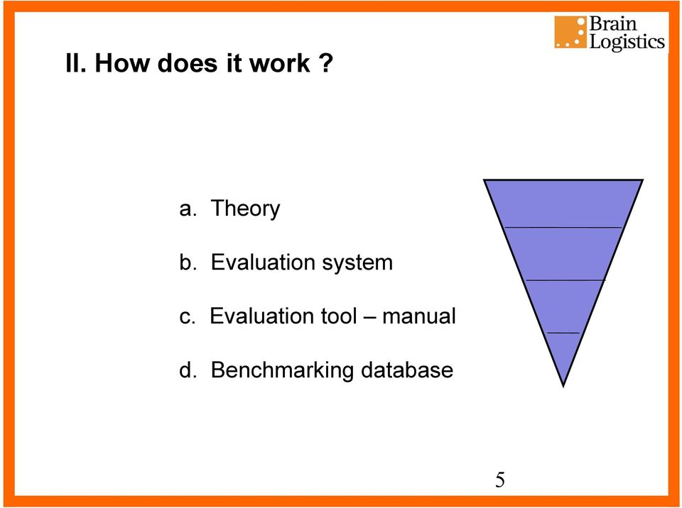 Evaluation system c.