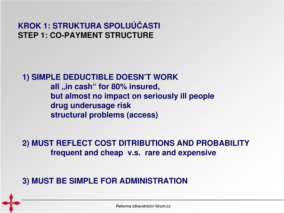 underusage risk structural problems (access) 2) MUST REFLECT COST DITRIBUTIONS AND