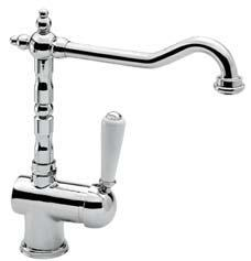 338 Monocomando lavello verticale RETRO-TRES Single lever single hole sink mixer RETRO-TRES