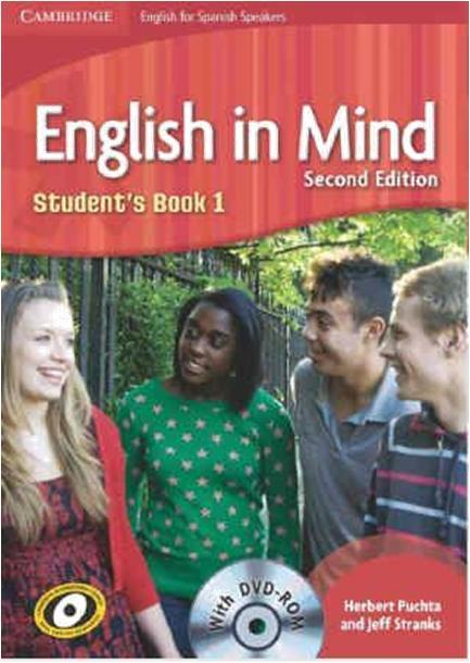Jazyk anglický: English in Mind 1 Student s Book Puchta H., Stranks J.