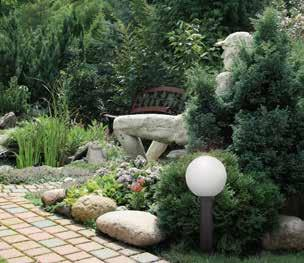 EN This garden luminaire is suitable especially for the illumination of garden pathways, terraces and other exteriors.