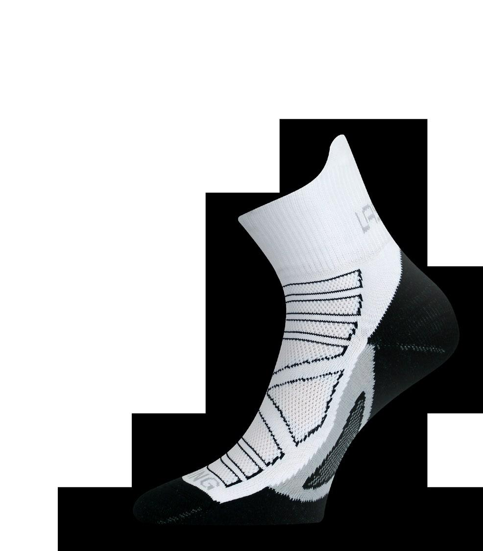 running socks RPC RPC running socks made of microfiber BORGOLON - polyamide will fit you perfectly.