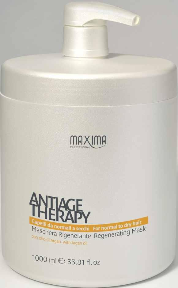 MAXIMA ANTIAGE THERAPY - WITH ARGAN OIL MAXIMA ANTIAGE THERAPY - WITH ARGAN OIL MAXIMA ANTIAGE THERAPY - WITH ARGAN REGENERATING SHAMPOO ŠAMPON ANTIAGE REGENERAČNÍ S ARGANOVÝM OLEJEM REGENERATING