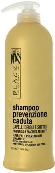 Black Hair Loss Prevention Shampoo 500 ml.