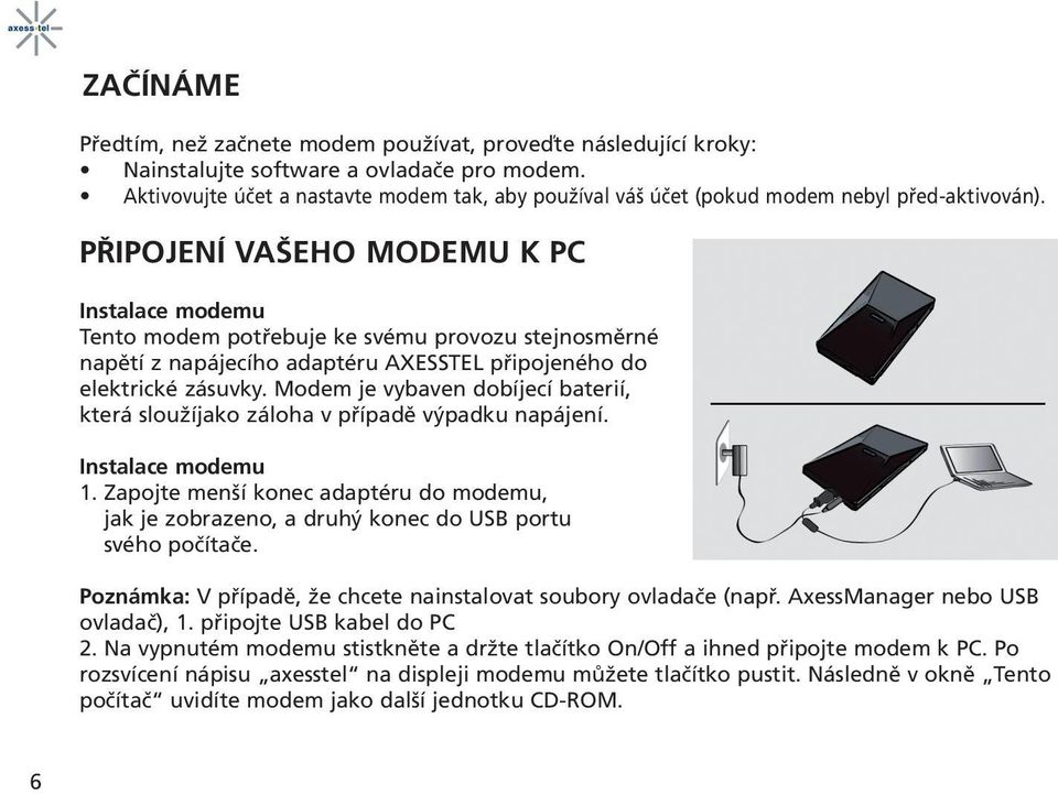 driver modem axesstel cdma 1xev-do windows 7