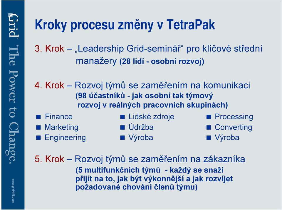 Finance < Lidské zdroje < Processing < Marketing < Údržba < Converting < Engineering < Výroba < Výroba 5.