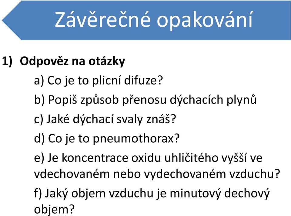 d) Co je to pneumothorax?