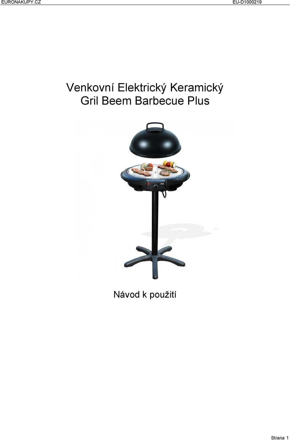 Barbecue Plus Návod