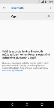 Vyberete možnost Bluetooth. 4.